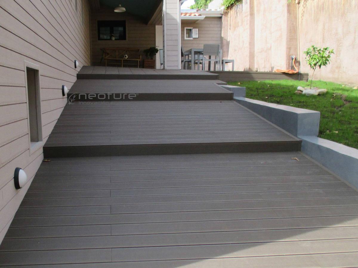 Madera composite for Astillas de madera para jardin
