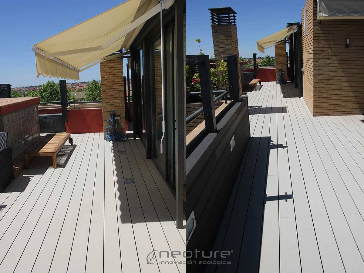 Tarima para exterior neomeck for Terraza madera exterior