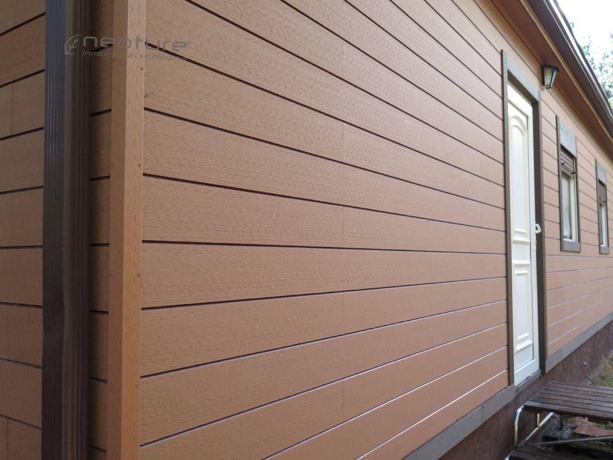 Revestimiento sint tico for Revestimiento pared imitacion madera