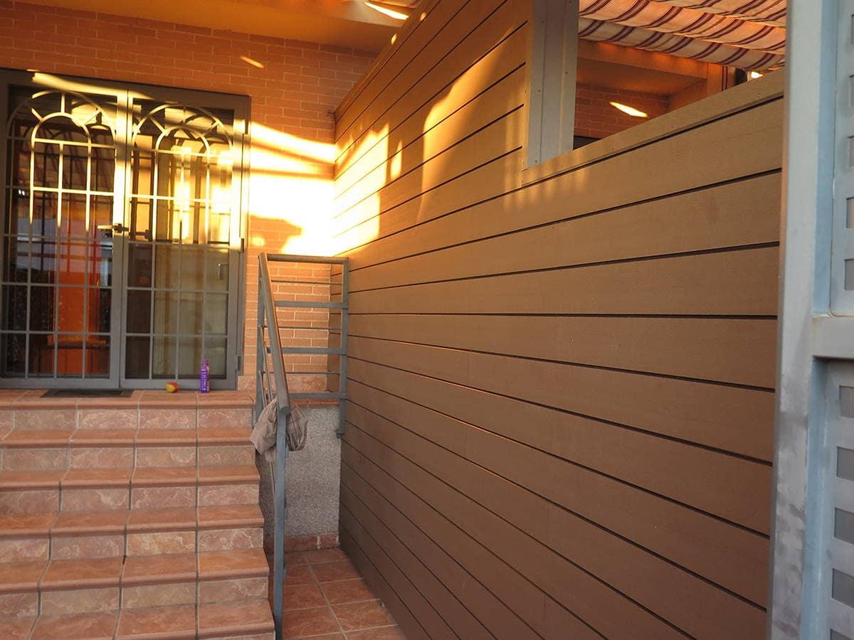 Revestimiento sint tico - Revestimiento madera paredes ...