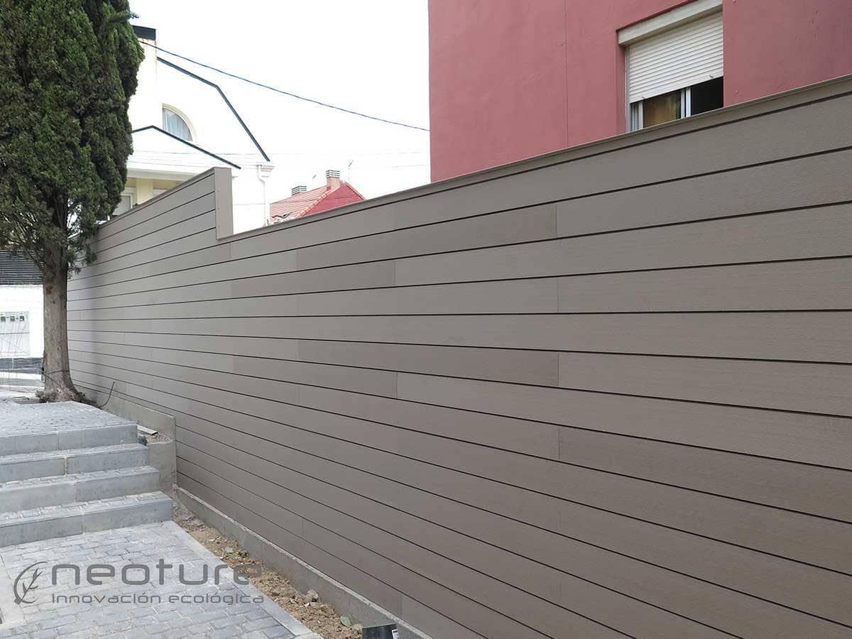 Revestimientos de paredes for Colores para paredes exteriores