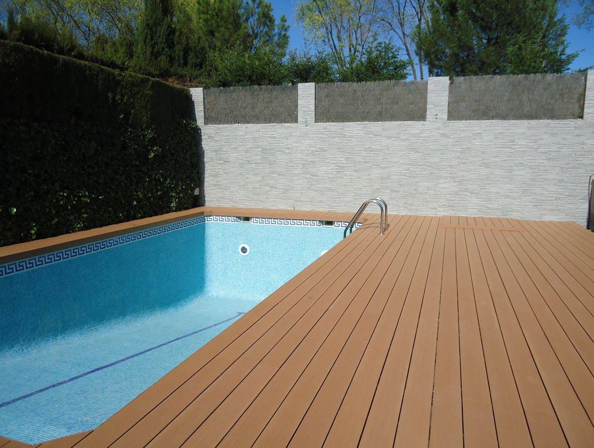 Tarima composite para exterior por qu apareci wpc - Tarima para piscinas ...