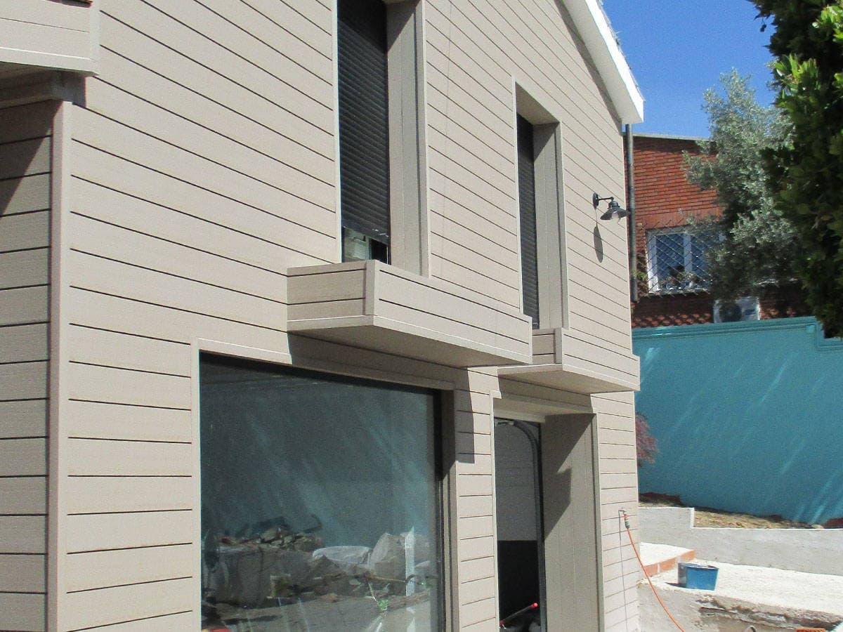 Revestimiento sint tico - Revestimientos exteriores para casas ...