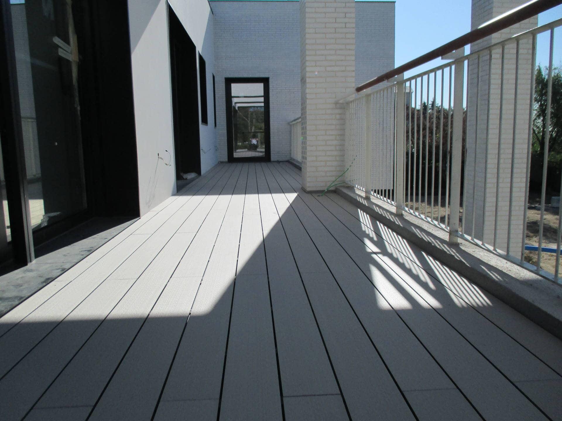 Tarima sint tica de exterior neoteck - Suelo para terrazas ...