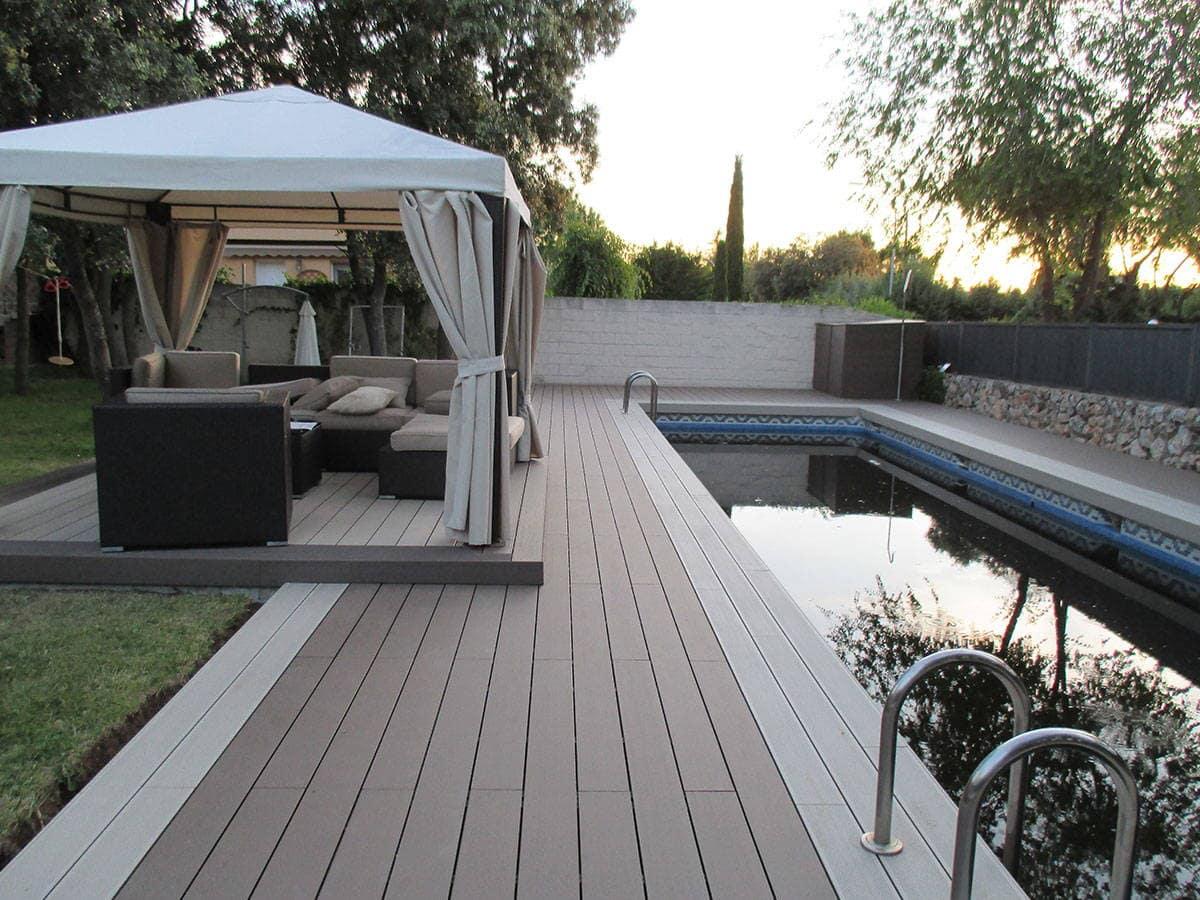 Tarima exterior piscina qu piezas son las m s adecuadas - Tarima para piscinas ...
