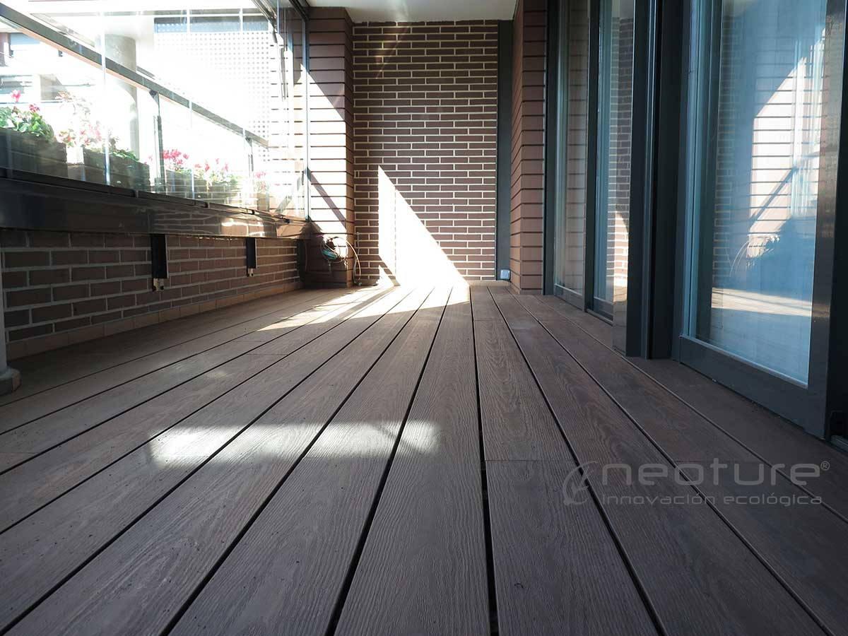 Tarima tecnologica para exterior neocros for Ipe madera exterior