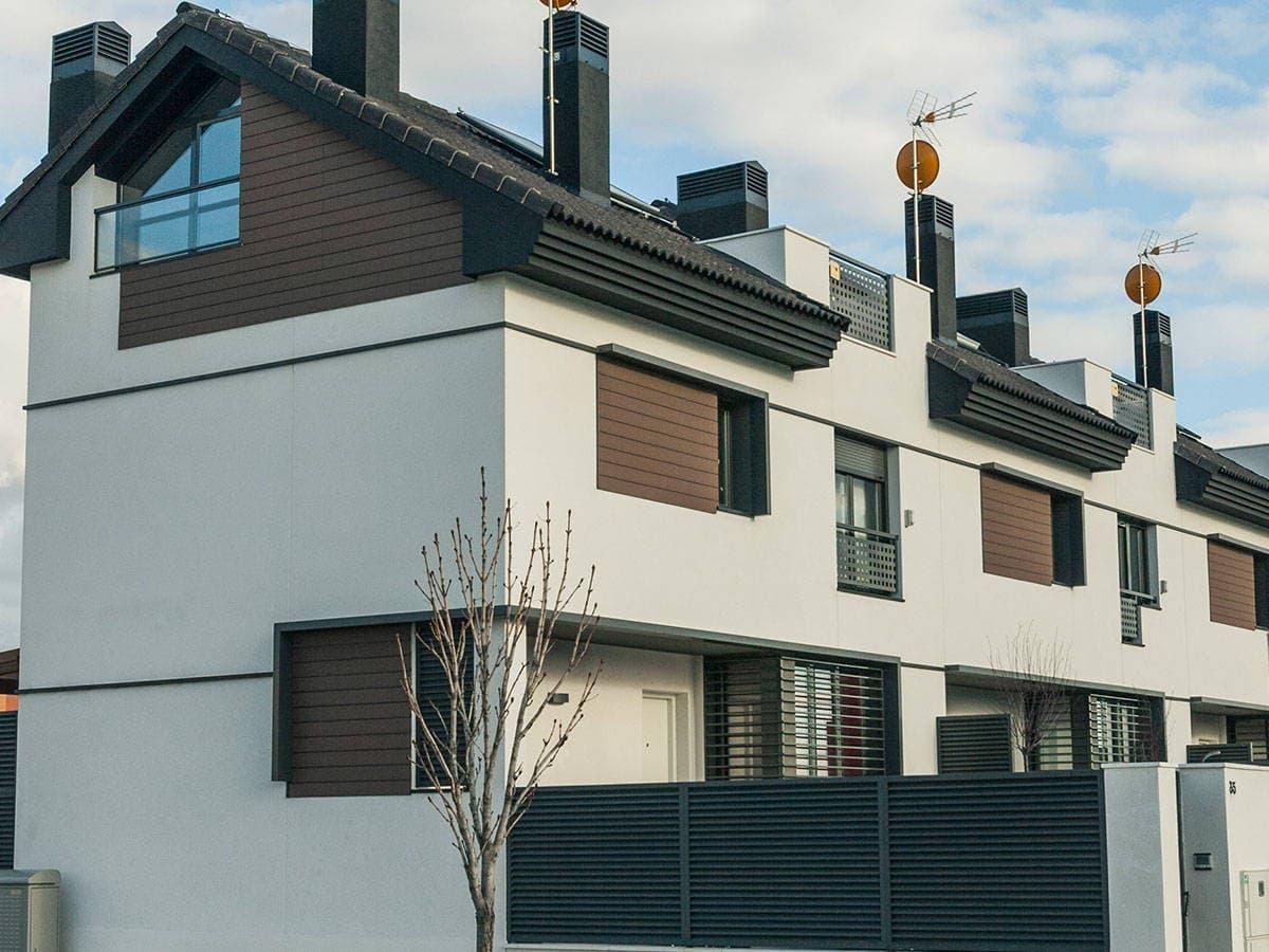 Paneles revestimiento exterior para paredes